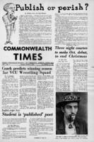 Commonwealth Times 1969-10-09