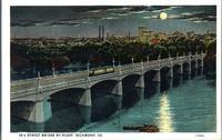 14th Street Bridge by Night, Richmond, Va.