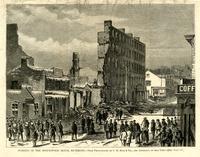 Burning of the Spottswood House, Richmond