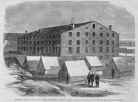 Exterior view of the Libey Prison, Richmond, Virginia