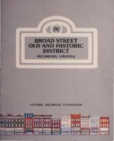 Broad Street old and historic district, Richmond, Virginia : guidelines and standards