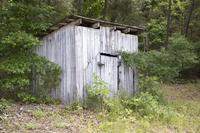 Chapel Hill School, wood shed near former school, Goochland County, Va., 2014