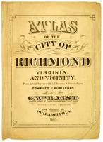 03_Atlas of the city of Richmond Virginia. and vicinity; from actual surveys, official records & private plans