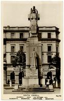 Edith Cavell. Brussels. Dawn. 12th October, 1915. Humanity, Sacrifice, Fortitude, Devotion.