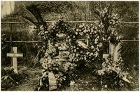 Graves of 3 (Baucq), 5 (Cavell), and 6 (Vandercammen).