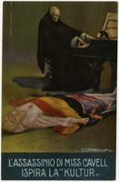 Assassinio di Miss Cavell ispira La Kultur