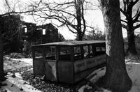 Abandoned school bus, Prince Edward County, Va., 1962-1963