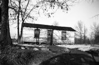 House inhabited by African Americans near Hampden Sydney, Prince Edward County, Va., 1962-1963