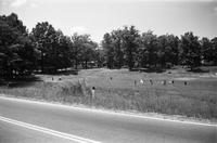 Prince Edward School Foundation (background) and children, Green Bay, Va., 1962-1963
