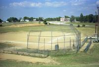 Ball field adjacent to Robert R. Moton High School, Farmville, Va., 1991