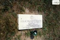 Gravestone of L. Francis Griffin, Farmville, Va., 1991