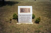 Commemorative monument to L. Francis Griffin, Farmville, Va., 1991
