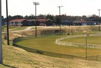 Robert R. Moton High School and ball field, Farmville, Va., 2001
