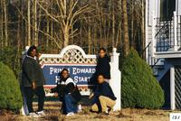 Prince Edward Head Start sign and staff, Prince Edward County, Va., 2001