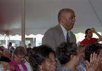 Robert Russa Moton Museum, Farmville, Va., 50th anniversary of the student strike, view of audience, 2001