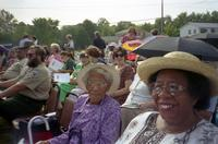 Robert Russa Moton High School, Farmville, Va., national historic designation ceremonies, view of crowd, 1998