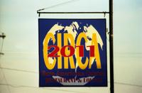 Restaurant sign in Farmville, Va., 2001