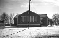 First Rock Elementary School, Prince Edward County, Va., main building, 1962-1963