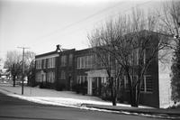 Farmville High School, Farmville, Va., front view, 1962-1963