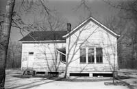 Felden Elementary School, Prince Edward County, Va., side view, 1962-1963