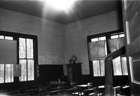 Felden Elementary School, Prince Edward County, Va., right rear classroom, 1962-1963