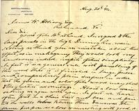 Letter from Griffin & Randall to James W. Allison, 1894 August 20