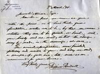 Letter from Griffin & Randall to James W. Allison, 1894 April 7