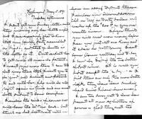 Letter from James W. Allison to Minnie Clemens Jones Allison, 1891 May 5