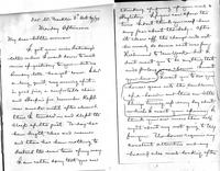 Letter from James W. Allison to Minnie Allison, 1894 October 29