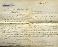 Letter from Griffin & Randall to James W. Allison, 1894 December 6