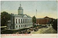 Court House and Market Square, Madison, Ind.