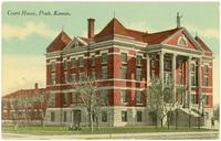 Court House, Pratt, Kans.