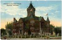 Adams County Court House, Hastings, Nebraska.